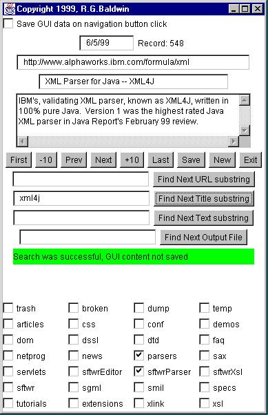 XML and Java Objects, Part 1 - XML - 062799